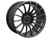 XXR 550 17x9.25 5x100,5x114.3 19et Chromium Black Wheels Rims
