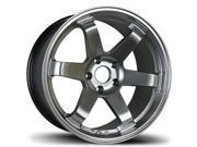 Avid AV-06 18x8.5 5x114.3 35et 73.1 Hyper Black Wheels Rims