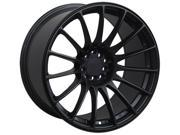 XXR 550 16x8.25 4X100,4X114.3 2et Flat Black Wheels Rims