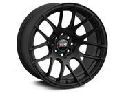 XXR 530 17x8.25 5x100,5x114.3 25et Flat Black Wheels Rims