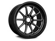 XXR 557 17x9 5x100,5x4.5 15et Black Milled Wheels Rims
