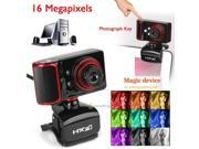 USB 16MP HD Webcam Web Cam Filter Camera with MIC for Computer PC Laptop Desktop 9SIACJ462G8132