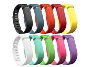Hellfire Trading - 10PCS Replacement Wristband Bracelet Band Strap for Fitbit Flex - Small (200x10x15mm)