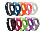 Hellfire Trading - Replacement Wristband Bracelet Band Strap for Fitbit Zip - Grey
