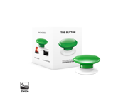 Fibaro FGPB 101 5 US The Button Z Wave Scene Controller Green