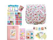 Fujifilm Instax Mini 8 Accessories Floral Map Bohemai Pattern Camera Case Bag Filters Album Hang Frames Selfie Lens Film Frames