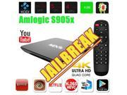 MXQ Amlogic S905X X64 Quad Core 2 GHz Smart TV Box Android 6.0 Home Internet stream media Center Support Full HD 1080P Free Sports Movies 4K WIFI