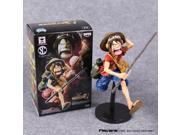 Anime One Piece Monkey D Luffy PVC Action Figure Collectible Model Toy 2 Colors 15cm 9SIACN45C58960