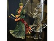 20cm One Piece Roronoa Zoro Cartoon Animation Action Figure PVC Model Toy Doll Gift Kids Decoration (Color: Grey) 9SIACN45C58978