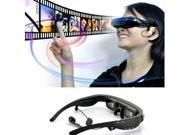"HD Multi-media Player Video Glasses 52"""" Wide Virtual Screen Portable Stereo Personal Theater Multi-media Player Movie Build in 4GB Memory Glasses"" 9SIACNC56W8134"