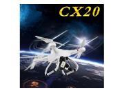 Vipwind Cheerson rc cx-20 cx20 auto-pathfinder quadcopter  GPS cx 20 drone drones 2.4g 4ch remote control helicopter(Camera Not Included) (Color: White & White)