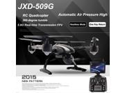 Vipwind JXD 509G RC Quadcopter Drone 5.8G FPV With 2.0MP HD Camera Automatic Air Pressure High Headless Mode One Key Return (Size: 1)