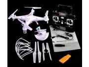 Vipwind Syma X5C-1 2.4Ghz 6-Axis Gyro RC Quadcopter Drone UAV RTF UFO with 2MP HD Camera (Color: White)
