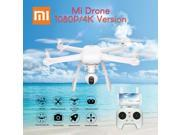 Vipwind Xiaomi Mi Drone WIFI FPV With 1080P Camera 3-Axis Gimbal RC Quadcopter with Transmitter Color: White