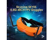 Vipwind Skyzone SKY01S Upgraded 5.8G 48CH FPV Goggles Auto Search Headset with  Front Cam RC Quadcopter Drone