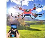 Vipwind 4CH 2.4G 6-Axis Gyro 5.8G Real-time FPV Headless Mode RC Quadcopter Drone With HD Video Camera