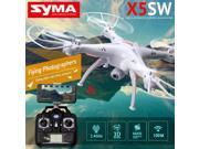 Vipwind Syma X5SW RC 2.4G 6-Axis FPV Quadcopter Drone Helicopter Headless with 2.0MP Camera Wifi IOS&Android Sync Real Time Video
