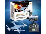 Vipwind HT F801C RC Quadcopter FPV Drone WiFi HD Camera Auto Return with Remote Control (Color: Blue)