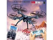 Vipwind New X5SW-1 Wifi FPV RTF 2.4G 4CH RC quadcopter Camera Drone with HD Camera UAV