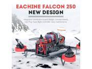 Vipwind Eachine Falcon 250 FPV Quadcopter with FlySky i6 2.4G Remote Control 5.8G HD Camera RTF (Size: 1)