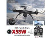 Vipwind FPV X5SW-1 Quadcopter WIFI Live Cameras Selfie Video Drone 2.4Ghz 4CH RC