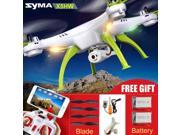 Vipwind Original Syma  HD X5HW (X5SW Upgrade) Drone with Camera  FPV 2.4G 4CH RC Helicopter Quadcopter With Security Guard, Dron Quadrocopter Toy (Color: White)