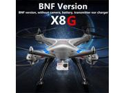 Vipwind Syma X8G 2.4G 4CH Headless Mode Without Camera Battery Transmitter RC Quadcopter BNF