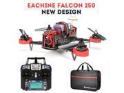Vipwind Eachine Falcon 250 FPV Quadcopter + FlySky i6 2.4G Remote Control 5.8G HD Camera RTF DIY DRONE with HandBag