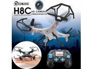 Vipwind Mini RC Drone Helicopter Quadcopter with 2MP Camera Eachine H8C 2.4G 6-Axis Headless Mode Rolling 360  RTF