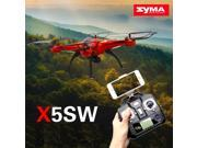 Vipwind SYMA X5SW / X5SW-1 WIFI RC Drone fpv Quadcopter with Camera Headless 6-Axis Real Time RC Helicopter Quadcopter Toys 9SIACNE60P3768