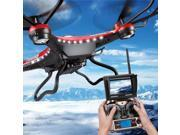 Vipwind JJRC H8DH 6-Axis Gyro 5.8G FPV RC Quadcopter Drone HD Camera With Monitor Original (Color: Black)