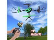 Vipwind Hot 2.4Ghz RC Helicopter Headless WIFI FPV (First Person View) Camera Quadcopter for Men/Boys Gift