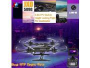 Vipwind RC Quadcopter With WIFI FPV 0.3MP / 2.0MP HD Camera JXD 509W / 509G 2.4G 4CH 6-Axis Gyro 5.40G FPV Built-in Height Locking Flight (Size: WIFI FPV 2.0MP