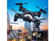 Vipwind 4-Axis Foldable Pocket Drone RC Quadcopter Watch Control WIFI FPV Selfie HD Camera W/ Hold 9SIACNE60P3776