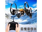 Vipwind Fashion 2.4G 4 Channels 6-Axis Gyro Flash Flying Escape RC Quadcopter Camera