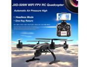 Vipwind JXD 509W JXD509W WIFI FPV High Hold Mode One Key Return RC Quadcopter RTF 2.4GHz drone  with 0.3MP Camera