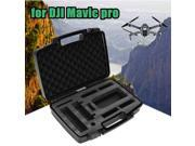 Vipwind Hard Case Waterproof Carrying Storage Box Protector Bag Portable Suitcase for DJI Mavic Pro FPV Drone RC Quadcopter (Color: Black)