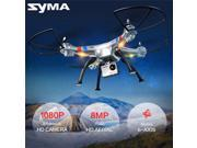Vipwind fashion Syma X8G 2.4G 6-Axis Gyro 360° 3D Flip UAV RTF Quadcopter 8MP HD Camera RC Drone (Color: White)
