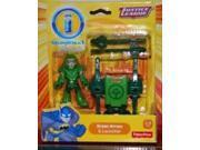 Imaginext DC Comics Green Arrow Figure and Launcher Justice League Action Figures BBF24 9SIACP65MT2318