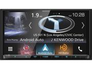Kenwood eXcelon DNX994S Navigation Receiver featuring Apple CarPlay and Android Auto with DRV-N520 Camera & Sirius Satellite Tuner, free KH-KR900 Headphones and