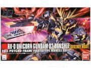 "GMK - #134 RX-0 Unicorn Gundam 02 """"Banshee"""" (Destroy Mode), Bandai"" 9SIACR75HG5466"