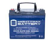 12V 35AH GEL Battery Replacement for IntelliPAP CPAP Machine