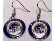 Boise State Broncos Circle Style Dangle Earrings 9SIACTM58E2525