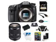 Sony a77II 24.3MP HD 1080p DSLR Camera 18-135mm Lens Bundle