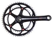 Campagnolo Centaur Black/Red Power-Torque 10 Speed Double Standard 39/52 Crankset 170mm