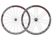 Campagnolo Bora Ultra 35 Tubular Wheel Set Bright Label - Campy Hub