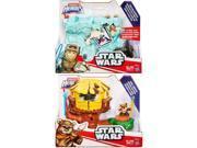 Hasbro HSBB2030 Star Wars Galactic Heroes Adventure Pack, Assorted Colors - Set of 3 9SIA00Y5TN8255
