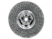 "Trulock Tln-6 Narrow-Face Crimped Wire Wheel, 6"""" Dia, .014 Wire"" 0ZD-001W-00033"