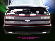 Fedar Main Upper Billet Grille For 1994-1999 Chevy Suburban Blazer Tahoe C/K Pickup Phantom - Polished