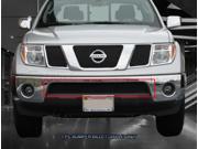 Fedar Lower Bumper Billet Grille For 2005-2015 Nissan Pathfinder Frontier - Black 9SIAD0D5C21394